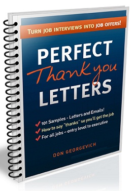 how to write job interview thank you letters
