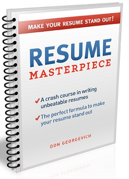 how to write a perfect resume