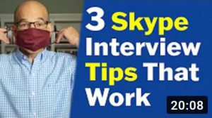 video interview over skype tips